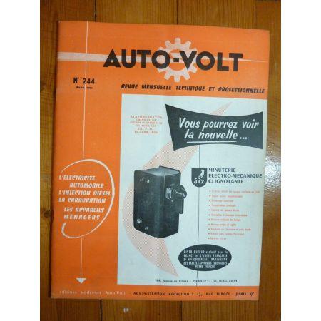 GA5-GLB5 Revue Technique Electronic Auto Volt Berliet