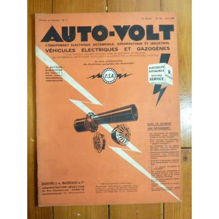 Alliages Revue Technique Electronic Auto Volt