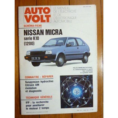 Micra K10 Revue Technique Electronic Auto Volt Nissan