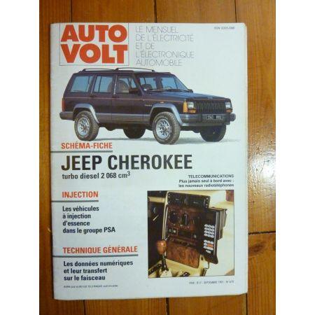 Cherokee TD Revue Technique Electronic Auto Volt  Jeep