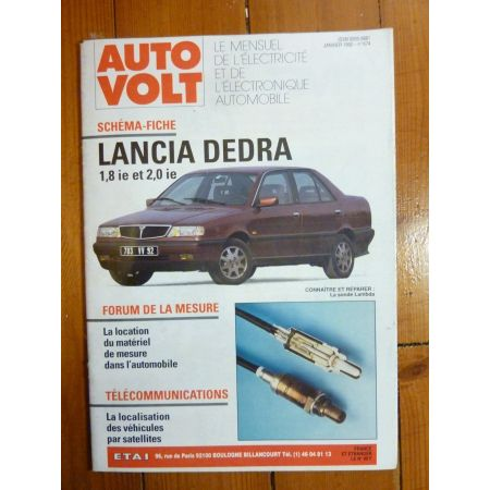 Dedra inj. Revue Technique Electronic Auto Volt Lancia