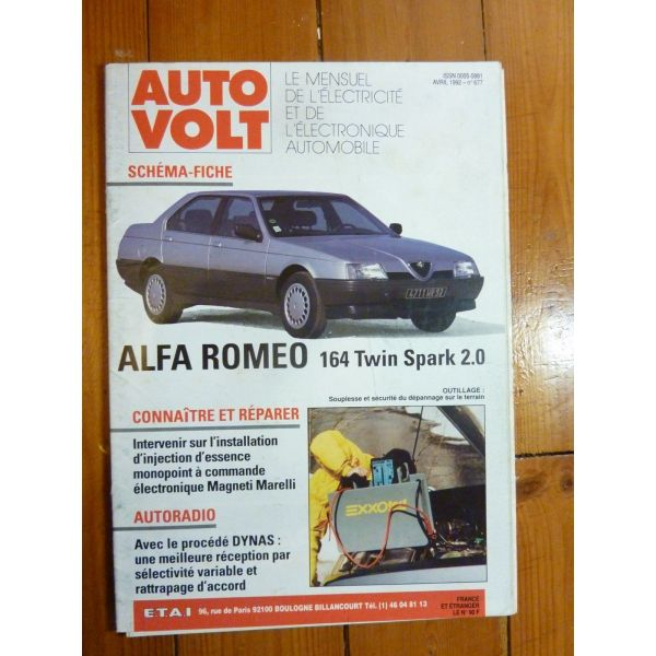 ALFA ROMEO 164 TWIN-SPARK 2.0 Shéma D'équipement