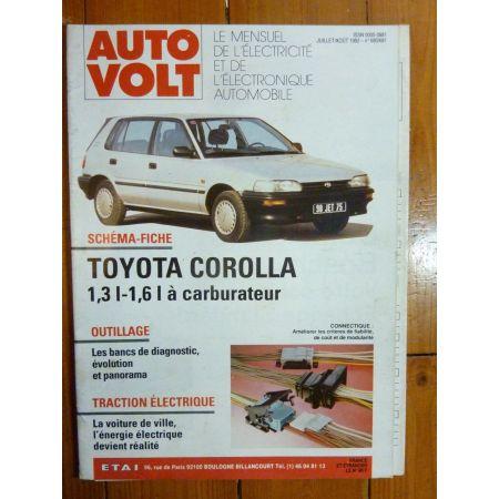 Corolla Revue Technique Electronic Auto Volt Toyota