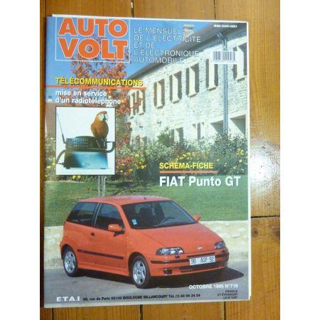 Punto GT Revue Technique Electronic Auto Volt Fiat