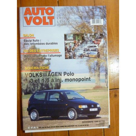 Polo Inj. Revue Technique Electronic Auto Volt VW