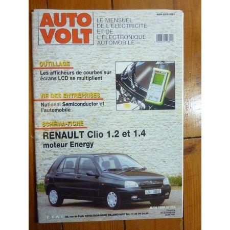 Clio Energy Revue Technique Electronic Auto Volt Renault