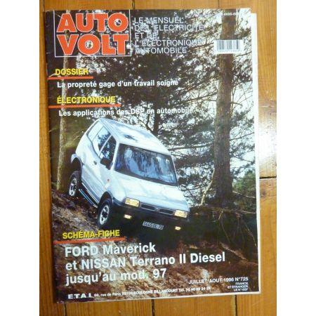 Maverick-Terrano II Revue Technique Electronic Auto Volt Ford, Nissan