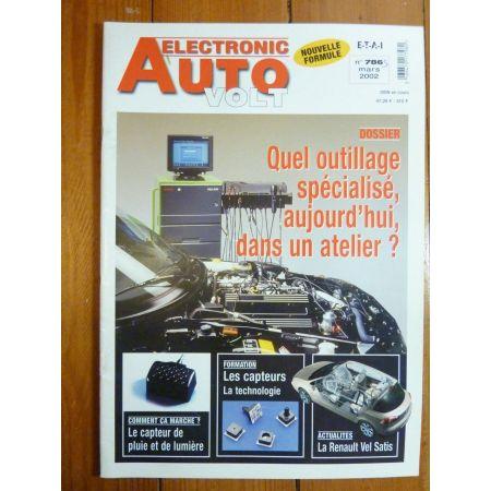 Outils spec Revue Technique Electronic Auto Volt