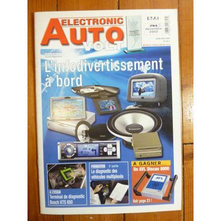 Infos a bord Revue Technique Electronic Auto Volt