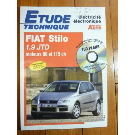 Stilo 1.9 JTD Revue Technique Electronic Auto Volt Fiat