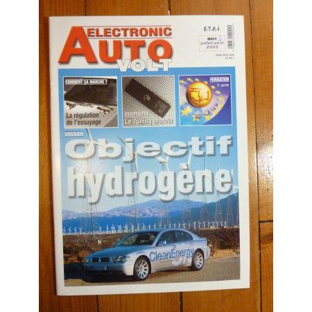 Hydrogene Revue Technique Electronic Auto Volt