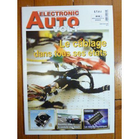 Cablage Revue Technique Electronic Auto Volt