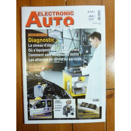Diagnostics Revue Technique Electronic Auto Volt