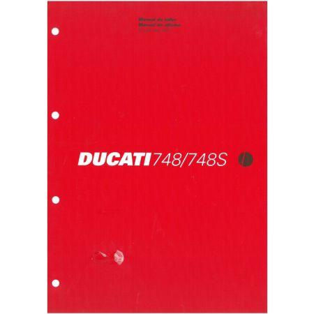 748-748S 2001 - Manuel Reparation Ducati