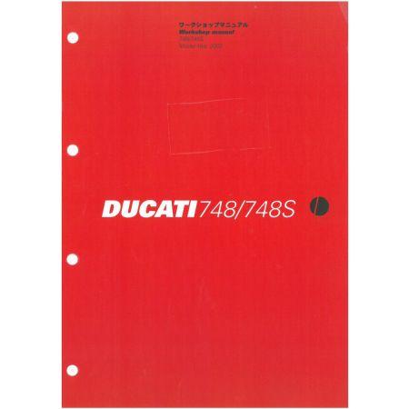 748-748S 2002 - Manuel Reparation Ducati