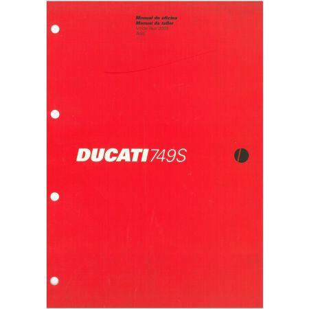 749S 2003 - Manuel Reparation Ducati