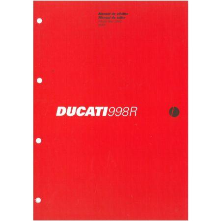 998R 2002 - Manuel Reparation Ducati