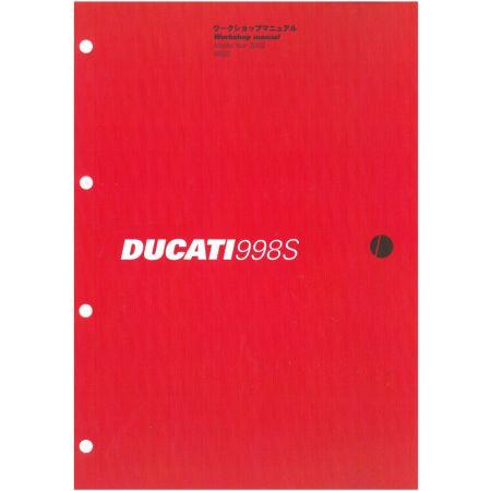 998S 2002 - Manuel Reparation Ducati
