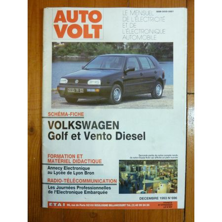Golf-Vento D Revue Technique Electronic Auto Volt VW