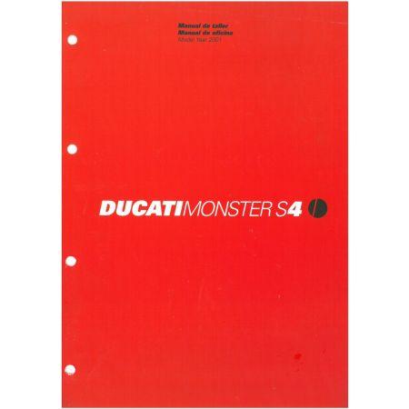 MONSTER S4 2001 - Manuel Reparation Ducati