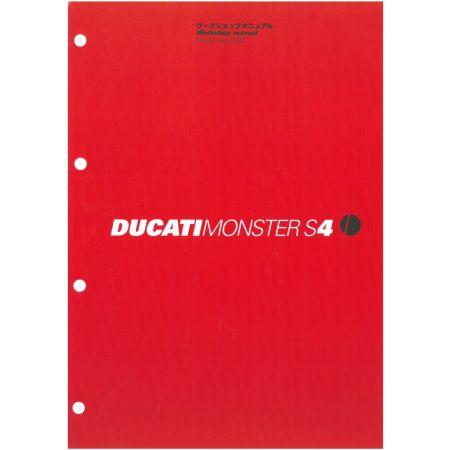 MONSTER S4 2002 - Manuel Reparation Ducati