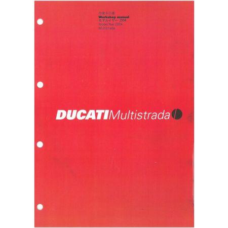 MULTISTRADA 2004 - Manuel Reparation Ducati