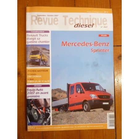 Sprinter III Revue Technique Mercedes