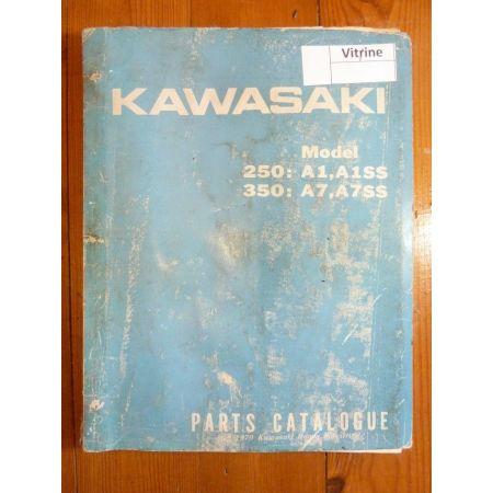 250-A1,350-A7 Catalogue Pieces Kawasaki