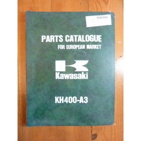 KH400 A3 Catalogue Pieces Kawasaki