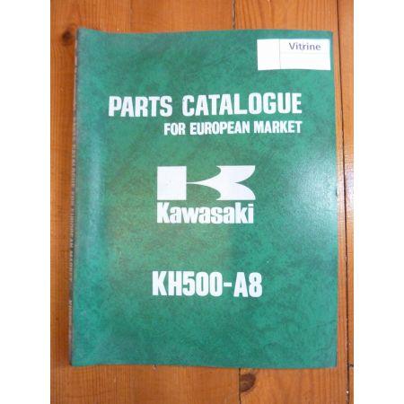 KH500 A8 Catalogue Pieces Kawasaki