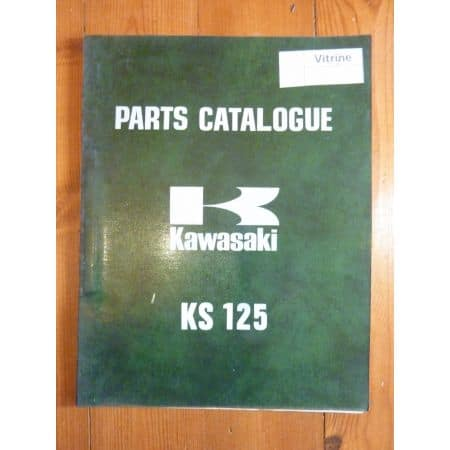 KS125 Catalogue Pieces Kawasaki