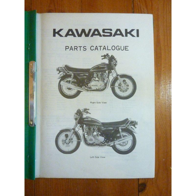 kawasaki z750 b1 catalogue des pieces detachees revue en langue anglaise 99997 675 ref cp kawa. Black Bedroom Furniture Sets. Home Design Ideas
