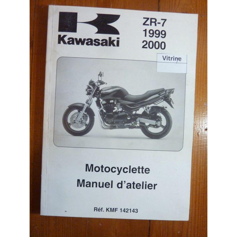 Kawasaki Zr 7 De 1999 Et 2000 Manuel D Atelier N