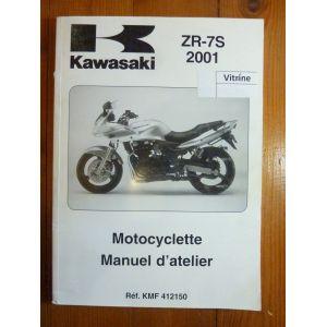 kawasaki zr 7 de 2001 manuel d 39 atelier n kmf142143 ma kawa zr7 01. Black Bedroom Furniture Sets. Home Design Ideas