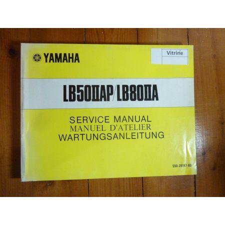 LB50-LB80 - Manuel Atelier Yamaha