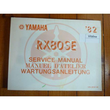 RX80SE 82 - Manuel Atelier Yamaha