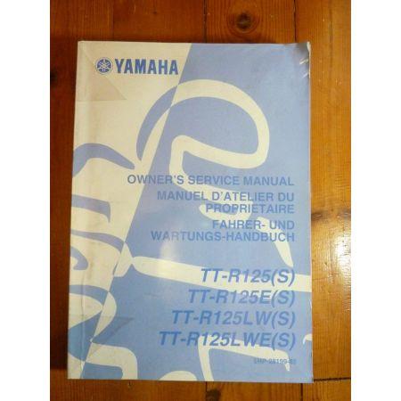 TTR125S - Manuel Atelier Yamaha