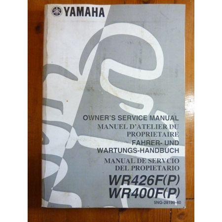 WR426F-P - Manuel Atelier Yamaha