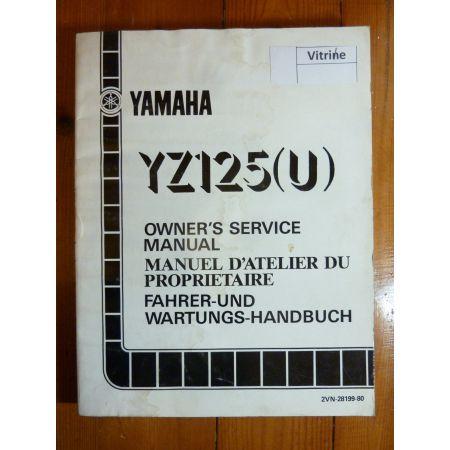 YZ125-U - Manuel Atelier Yamaha
