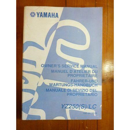 YZ250S-LC - Manuel Atelier Yamaha