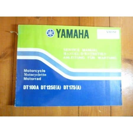 DT125E-A - Manuel Entretien Yamaha