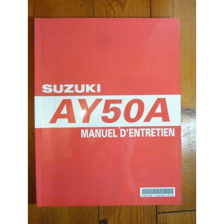 AY50A - Manuel Entretien Suzuki