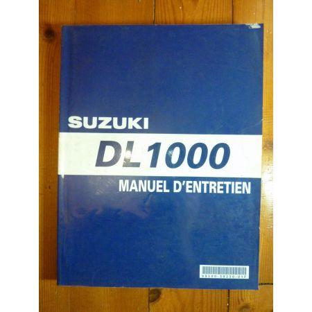 DL1000 - Manuel Entretien Suzuki