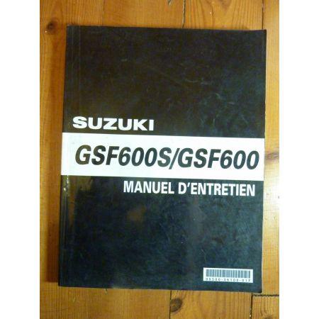 GSF600S - Manuel Entretien Suzuki