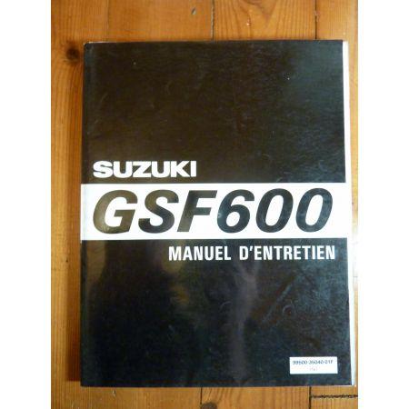 GSF600 - Manuel Entretien Suzuki