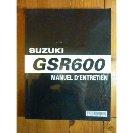 GSR600 - Manuel Entretien Suzuki