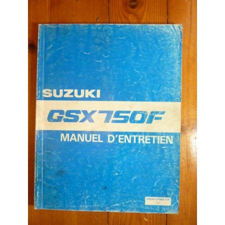 GSXF750-88 - Manuel Entretien Suzuki