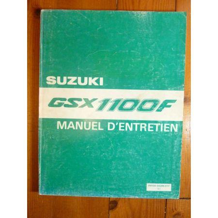 GSXF1100-89-94 - Manuel Entretien Suzuki