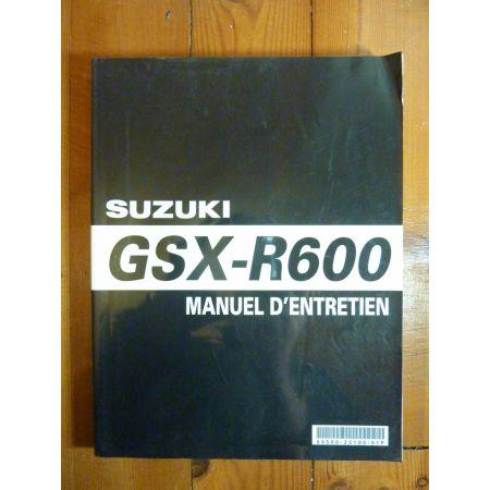 GSXR600 - Manuel Entretien Suzuki
