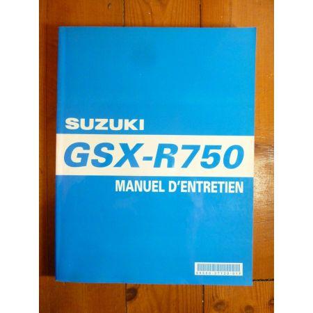 GSXR750-04 - Manuel Entretien Suzuki